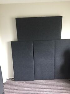 Acoustic Sound Panels with Bass Traps