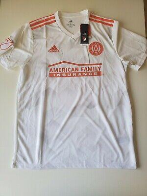 Adidas MLS Atlanta United FC 2019 Away Soccer Jersey White Men Sz L image