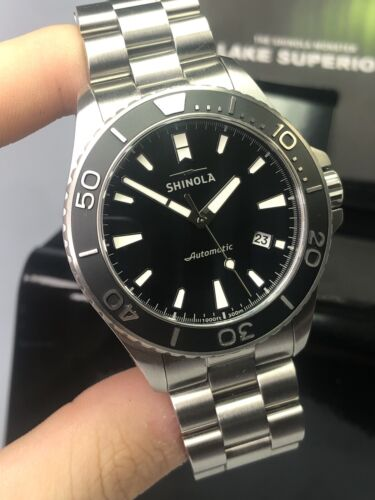 Shinola Lake Superior Monster Stainless Steel Automatic 43MM Diver's Watch