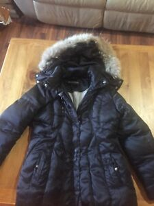 Goose down girls winter coat