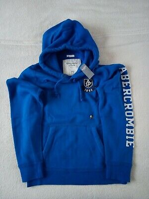 Mens Abercrombie & Fitch Fleece Hoodie Sweatshirt Size XXL 44