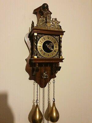 Antique Apollo dutch wall clock ,Franz Hermle mechanism!