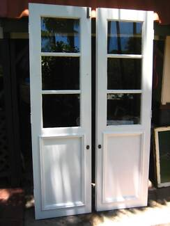 Beautiful Solid Timber French Doors circa approx 1940