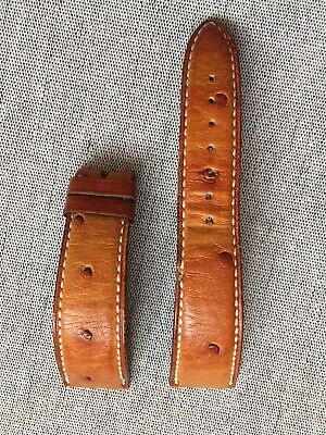 Blancpain Ostrich Strap 19/16mm Fit