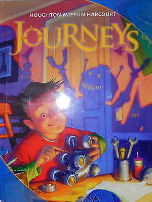 Houghton Mifflin Harcourt Journeys Student Edition Grade 4  Brand New 2011 Text
