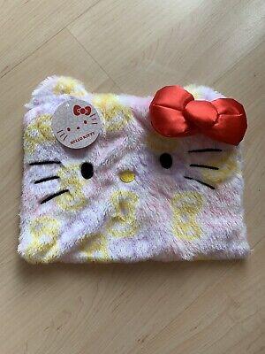 Sanrio Hello Kitty Face Pencil Makeup Pouch