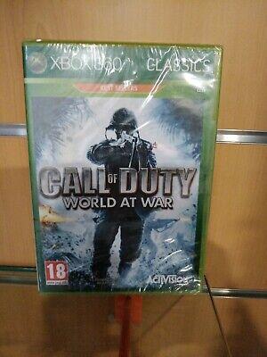 CALL OF DUTY WORLD AT WAR PAL ESPAÑA XBOX 360 CLASSICS