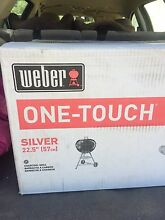 Weber one-touch silver kettle with lid Benalla Benalla Area Preview