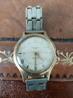 1960's Vintage Ingersoll 5 Jewels, Shockproof Wrist Watch In Working Order.