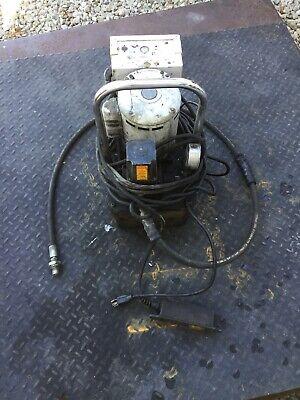 Enerpac Hytorc Electrichydraulic Single Hose Pump 10000 Psi