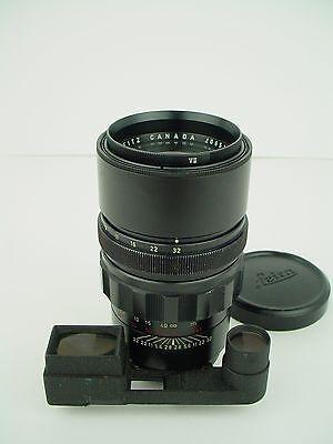 Leica Elmarit-M 135mm f/2.8 Leitz Canada Lens- Just Seviced & Film Tested