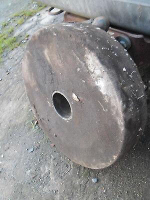Large Grindstone Wheel (old but probably unused) diameter 18 1/2