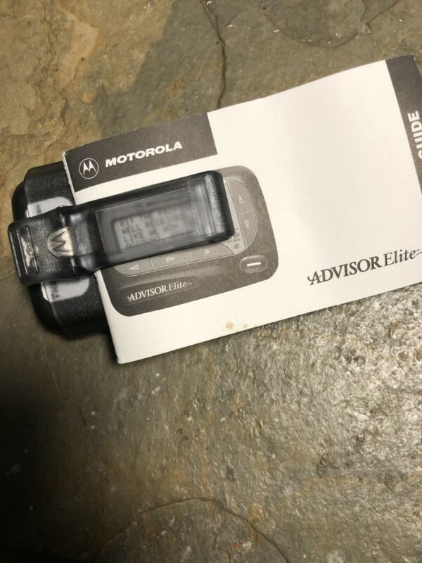 Motorola Advisor Pager - New - SHIPS FREE