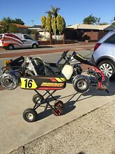 2x 125cc tag restricted racing go karts Stirling Stirling Area Preview