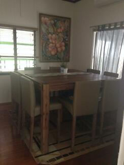 Timber 8 seater square table West Mackay Mackay City Preview
