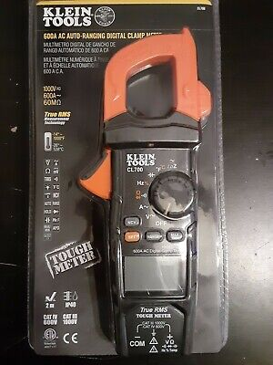 Klein Tools Ac Auto-ranging Trms Digital Clamp Meter New In Box