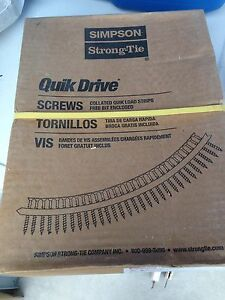 Simpson strongtie quik drive screws