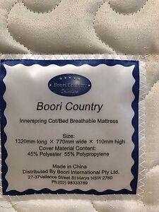 Boori cot mattress AND IKEA foam mattress Athelstone Campbelltown Area Preview
