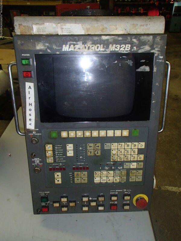 MAZAK Operator Panel M/N- YZ201B-3, Version A_Mazatrol M32B Control_MT-V-414