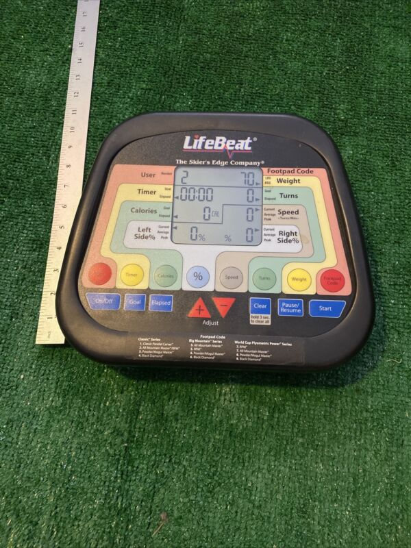 skiers edge lifebeat computer system the skiers edge computer feedback lifebeat