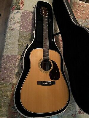 Martin HD-28 Acoustic Guitar - Natural with Aging Toner | 2019 Model