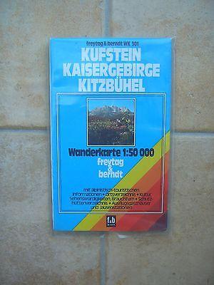 Freytag-Berndt Wanderkarte 1:50000 Kufstein Kaisergebirge Kitzbühel