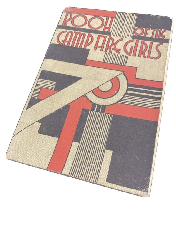 The Book of The Camp Fire Girls 1938 - First edition, second printing