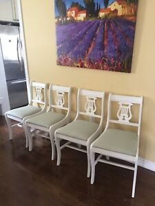 Set of Four Beautiful Chairs