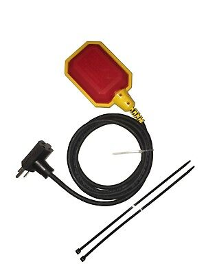 10 Ft Piggyback Float Switch Cable Septic System Sump Pump Water Tank