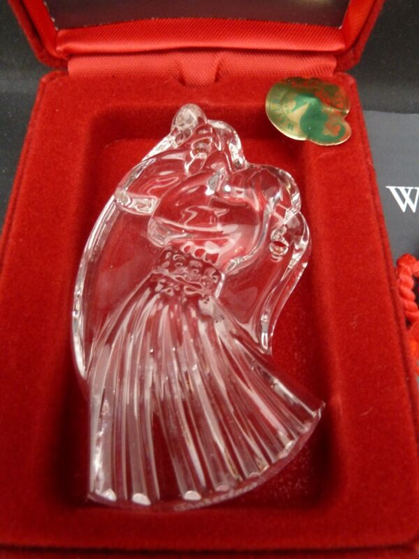Waterford Crystal Christmas Angel Ornament Collection 1996 Angel 2nd MIB
