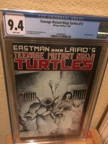 Mirage Studios TMNT Teenage Mutant Ninja Turtles #17 1988 CGC 9.4 NM
