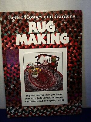 Better Homes And Gardens Books - Rug Making Book, 1978, Printed in the (Best Homes In The Usa)