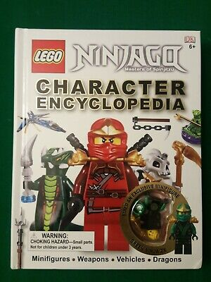 LEGO Ninjago Character Encyclopedia EXCLUSIVE Green Ninja ZX Minifigure book