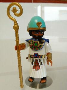 PLAYMOBIL-FIGURA-FARAON-EGIPCIO-EGIPCIAN-EGIPCIOS-PIRAMIDE-EGIPCIOS-SARRACENOS