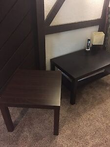 IKEA coffee and end table