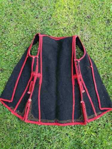 Antique vest (dzube) from the Ohrid region, women