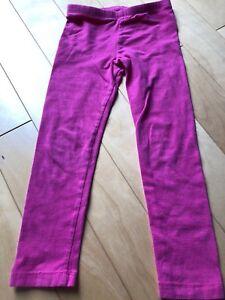 Circo fuchsia pink leggings size 5