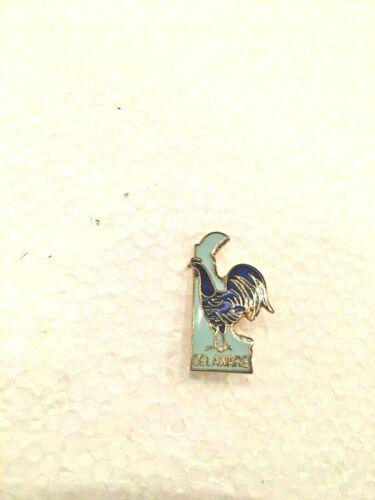 Delaware Chicken Pin