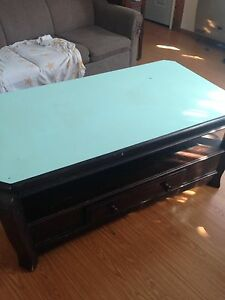 FREE coffee table and end table