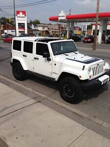 2012 Jeep Wrangler unlimited altitude addition