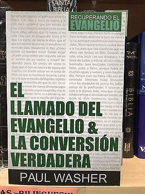El Llamado Del Evangelio and la Conversión Verdadera by Paul Washer (2017, Pape…