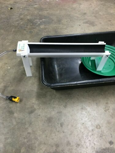 Fine Gold Recovery Mini Sluice Box V Mat With Leg Kit Martin Prospecting