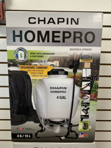 BackPack 4 Gal Sprayer - CHAPIN HOME PRO NEW 61821 Made in t