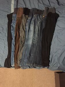 Maternity clothing size med - large brand names