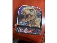 JURASSIC WORLD FALLEN KINGDOM Lead Safe Insulated Lunch Tote Box Kit NEW  $20