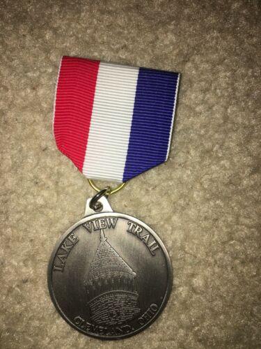 Boy Scout BSA Lake View Cleveland Ohio Uniform Ribbon Award Trail Medal