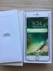 Iphone 6plus 16gb unlocked with box and charger