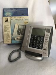 INNOVAGE LCD TOUCH PHONE- CALLER ID,TOUCH PANEL,SPEAKER,CLOCK,LIGHTED, CALENDER