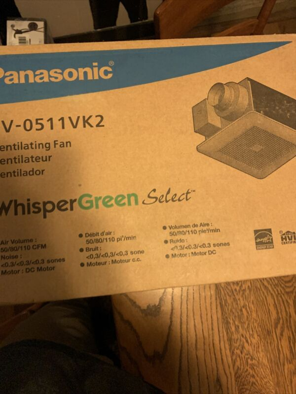 Panasonic Whispergreen Select Ventilation Fan