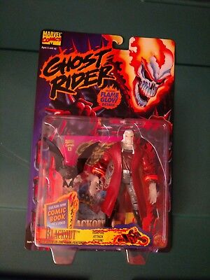 1995 Ghost Rider, Blackout by Toy Biz.